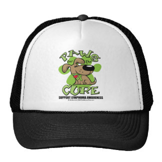 Lymphoma Paws for the Cure Trucker Hat
