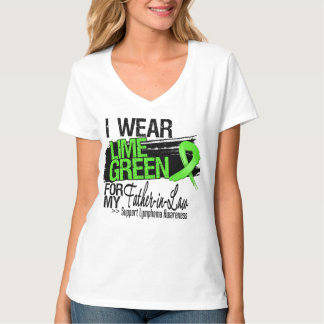 Lymphoma Ribbon For My Father-in-Law Tee Shirt