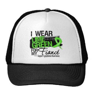 Lymphoma Ribbon For My Fiance Trucker Hat