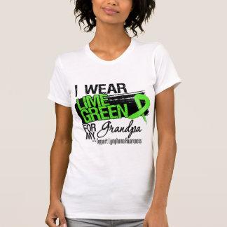 Lymphoma Ribbon For My Grandpa T-shirts
