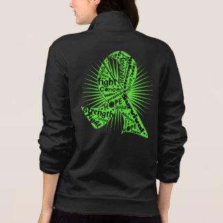 Lymphoma Ribbon Powerful Slogans Printed Jacket