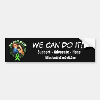 Lymphoma - Rosie The Riveter - We Can Do It Car Bumper Sticker