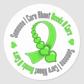 Lymphoma Someone I Care About Needs A Cure Round Sticker