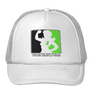 Lymphoma Strength Fight Like A Girl Trucker Hat