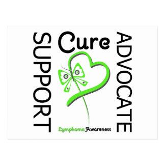 Lymphoma Support Advocate Cure Postcard