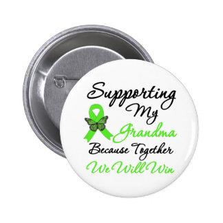 Lymphoma Support (Grandma) Pinback Button
