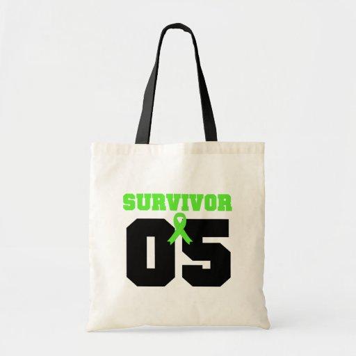 LYMPHOMA Survivor 05 YEARS Tote Bag