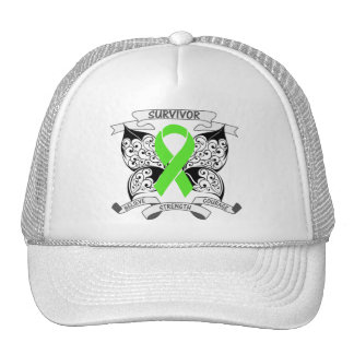 Lymphoma Survivor Butterfly Strength Hat