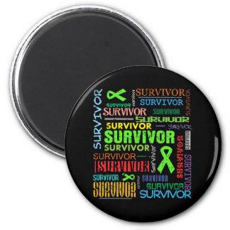 Lymphoma Survivor Collage.png Magnets