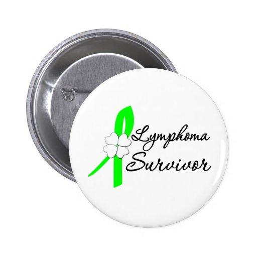 Lymphoma Survivor Inspirations 2 Inch Round Button