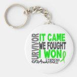 Lymphoma Survivor It Came We Fought I Won Key Chains