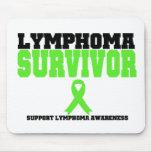Lymphoma Survivor Mouse Mats