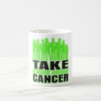 Lymphoma -Take A Stand Against Cancer Mugs