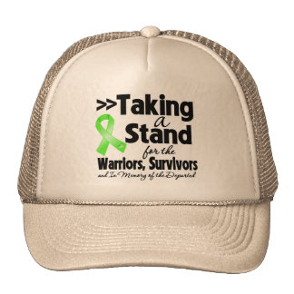 Lymphoma Taking a Stand Tribute Trucker Hats