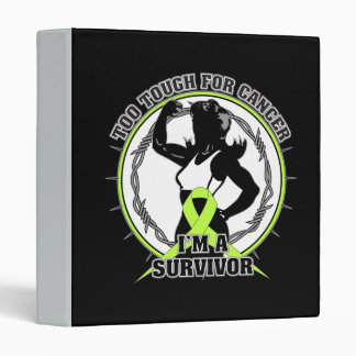 Lymphoma Too Tough For Cancer Vinyl Binders