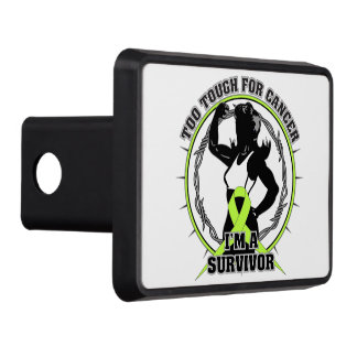 Lymphoma Too Tough For Cancer Tow Hitch Cover