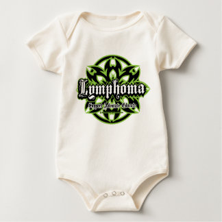 Lymphoma Tribal Baby Bodysuit