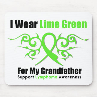 Lymphoma Tribal Ribbon For My Grandfather Mouse Pad