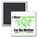 Lymphoma Tribal Ribbon For My Mother Magnet