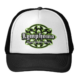 Lymphoma Tribal Trucker Hat