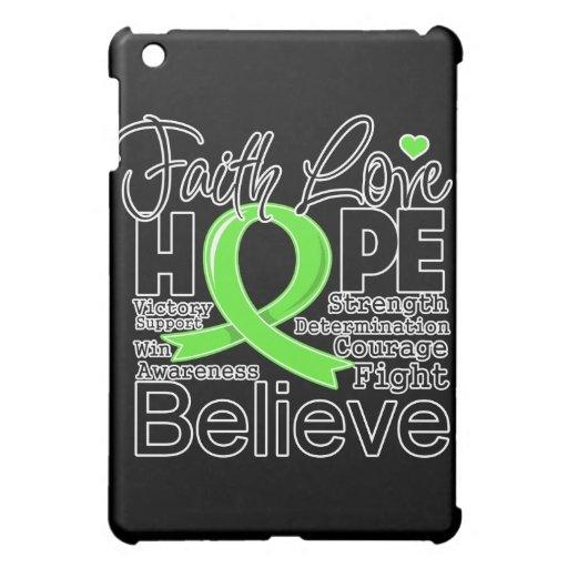 Lymphoma Typographic Faith Love Hope iPad Mini Cover