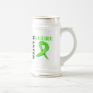 Lymphoma WANTED A CURE Mugs