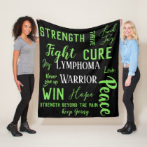 Lymphoma Warrior blanket