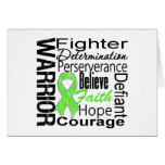 Lymphoma Warrior Collage Greeting Card