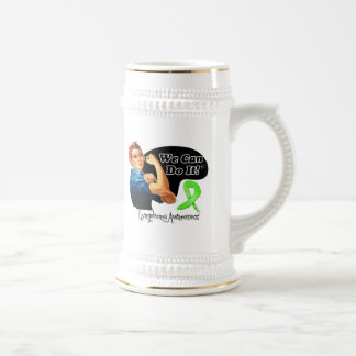 Lymphoma We Can Do It Rosie The Riveter Mugs