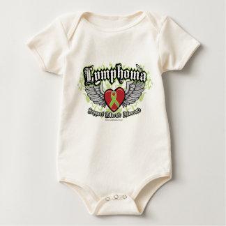 Lymphoma Wings Baby Bodysuit