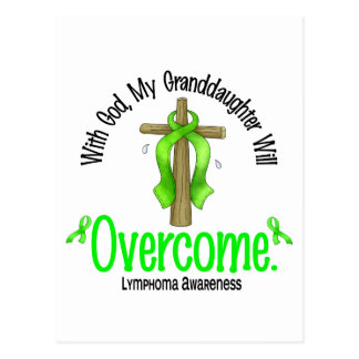 Lymphoma With God My Granddaughter Will Overcome Postcards