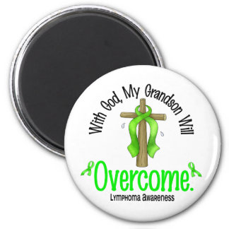 Lymphoma With God My Grandson Will Overcome Fridge Magnets