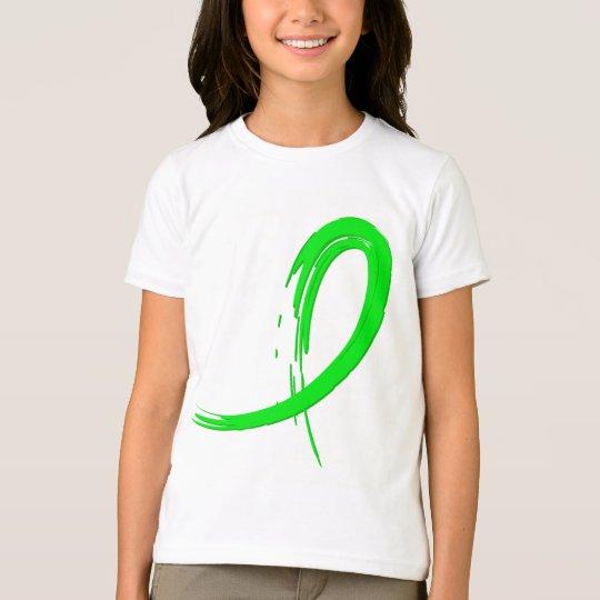 Lymphoma's Lime Green Ribbon A4 T-Shirt