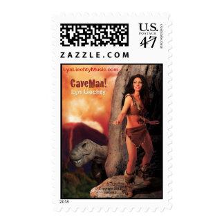 Lyn Liechty CaveMan Stamp