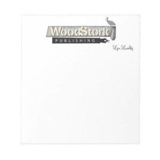 Lyn Liechty WoodStork Publishing Note Pad