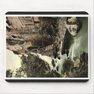 Lyn. Mill, East Lyn, Lynton and Lynmouth, England Mouse Pad
