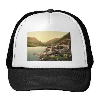Lyn Peris Pass, Llanberis, Wales rare Photochrom Trucker Hat