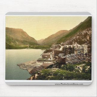 Lyn Peris Pass, Llanberis, Wales rare Photochrom Mouse Pad