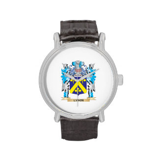 Lynch Coat of Arms - Family Crest Watches