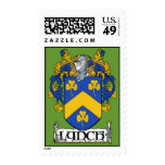 Lynch Coat of Arms Postage Stamps