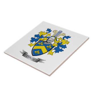 Lynch Coat of Arms Tile