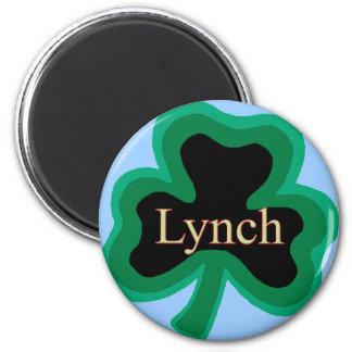 Lynch Family 2 Inch Round Magnet