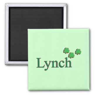 Lynch Family 2 Inch Square Magnet