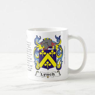 Lynch Family Coat of Arms Mug