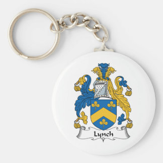 Lynch Family Crest Keychain