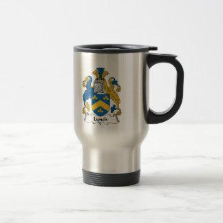 Lynch Family Crest 15 Oz Stainless Steel Travel Mug