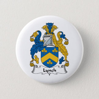 Lynch Family Crest Pinback Button