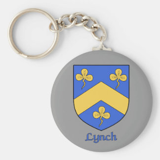 Lynch Family Shield Keychain