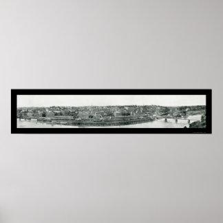 Lynchburg, foto 1908 del VA Póster
