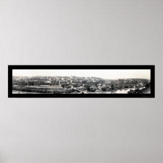 Lynchburg, foto 1915 del VA Póster